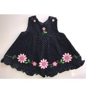 Other - Boutique baby girl navy pink  jumper 6-9 months